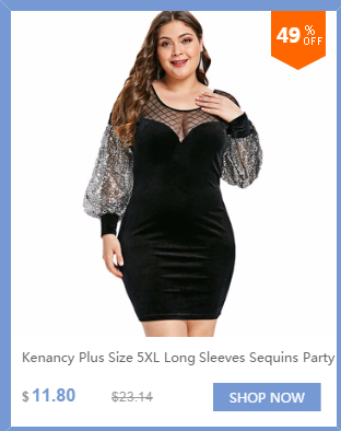 502c9946af734 Detail Feedback Questions about Kenancy Plus Size Flounce Sequin ...
