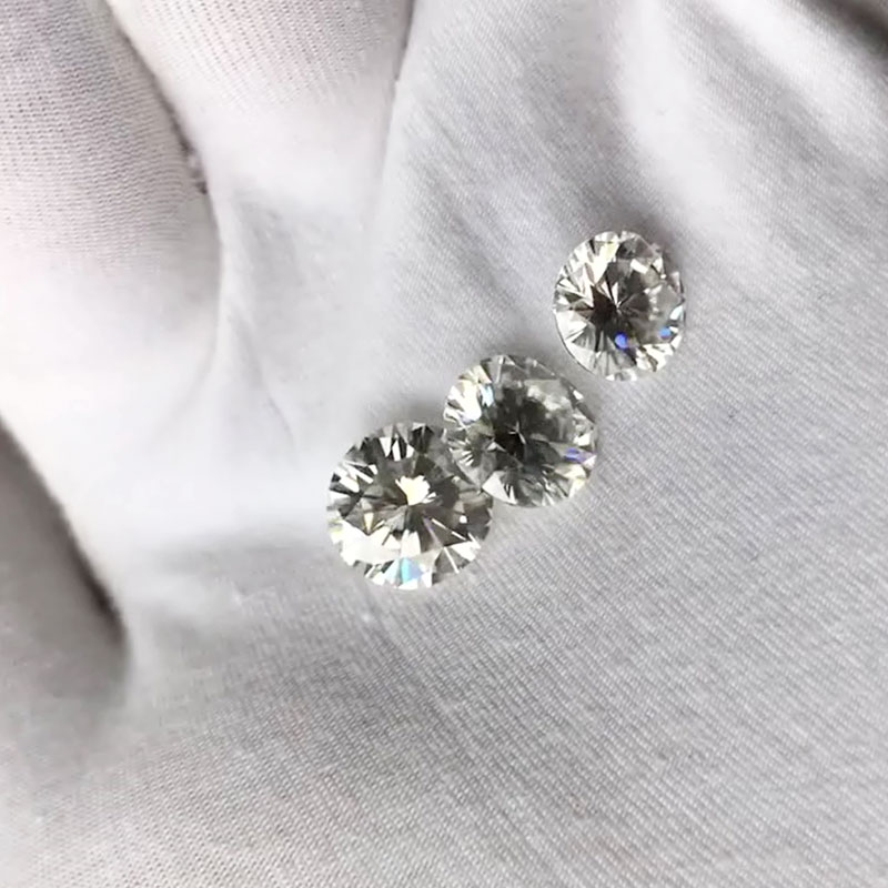 Similar to forever one 9.5mm 3.5ct round brilliant cut moissanites loose stone synthetic beads for jewelry making retail price