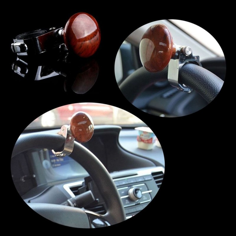 Car Styling Steering Wheel Handle Ball Hand Control Power Handle Grip Spinner Knob Grip Knob Turning Helper