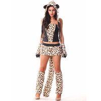 Leopard Adult Animal Onesies Disfraces Adultos Halloween Costumes For Women Helloween Disfraz Halloween Mujer Costume Halloween