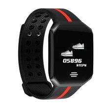 B07 Smartwatch Men Fitness Tracker Waterproof Sport Bracelet Blood Pressure colorful Wristband Bluetooth 1.0 inch Color Screen