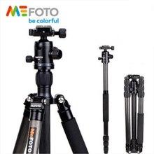 MeFOTO C2350Q2 Carbon Fiber Professional Tripod Kit Flexible Monopod Portable Photography Support Set Mobile Tripod Ball