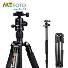MeFOTO C2350Q2 Carbon Fiber Professional Tripod Kit Flexible Monopod Portable Photography Support Set Mobile Tripod Ball Head