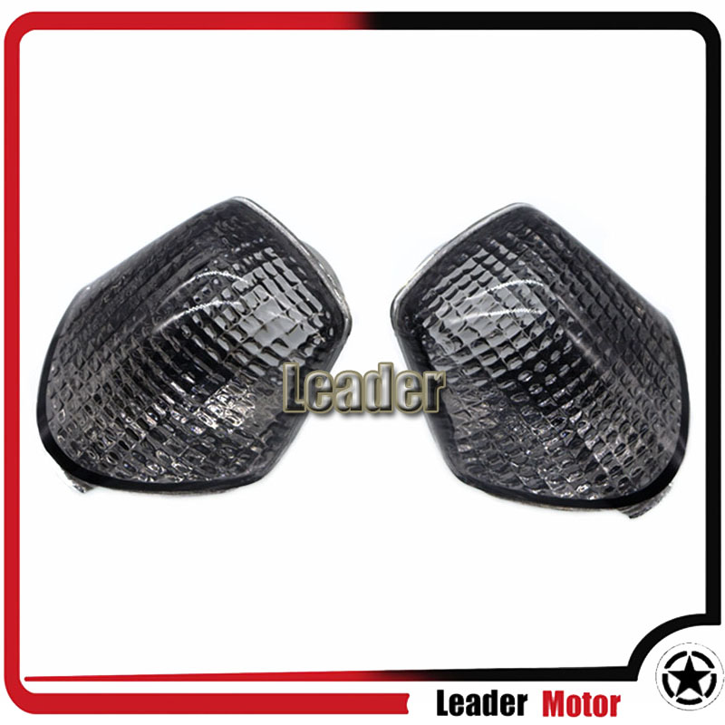 For Honda CBR600 CBR1000 CBR 600 CBR 1000 F2 F3 Replacement Front Turn Signals Light Lens Blinker Cover Clear Smoke Certified