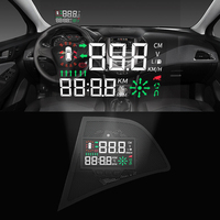 KUST Car HUD OBD2 Display Dashboard For Chevrolet For Cruze 2017 2018 Auto Car Styling Accessories Head Up Display Decor