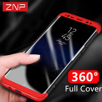 ZNP Luxury Ultra Thin Protective Case For Samsung Galaxy S8 S8 PLUS Back Protection Cover For