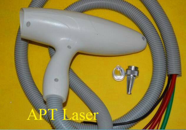 Q-Switched Laser Handpiece----endogenous and exogenous pigment eliminate for ipl machines