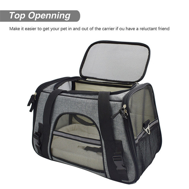 Carrier for Dogs Travel Cat Carrier  Safety Reflective  3