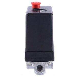 Image 3 - 1 Pcs 3 phase 380/400 V Compressor Pressure Switch Heavy Duty Air Compressor Pressure Switch Control Valve Mayitr