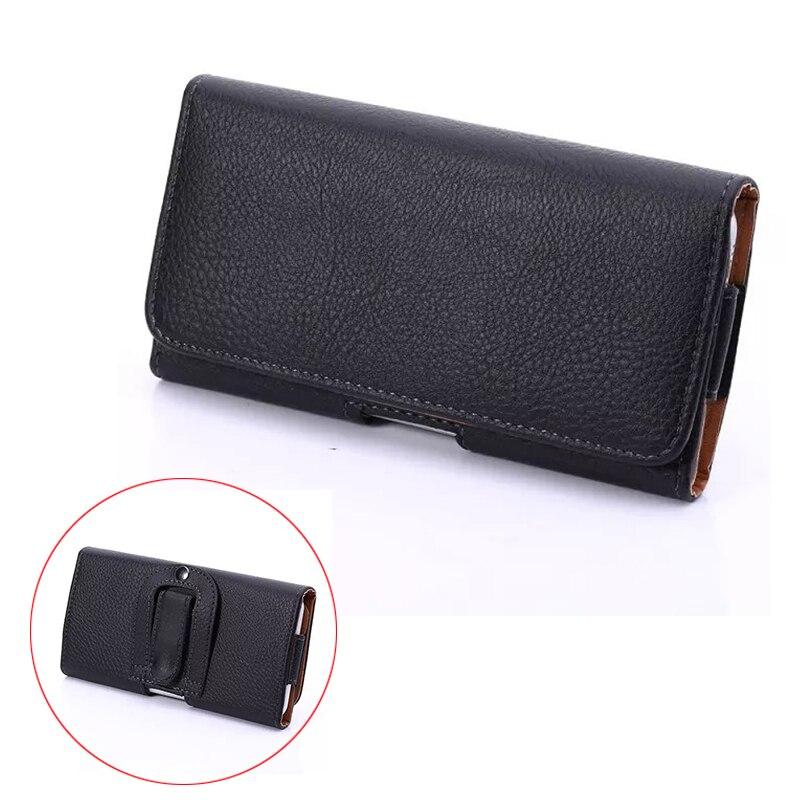 Fashion PU Leather Waist Belt Pocket Holster Bag Phone Cover Case For zte blade a510 a1 x3 x7 l3 v7 lite 5.1