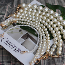 NEW brand Pearl strap for bags handbag accessories purse belt handles cute bead chain