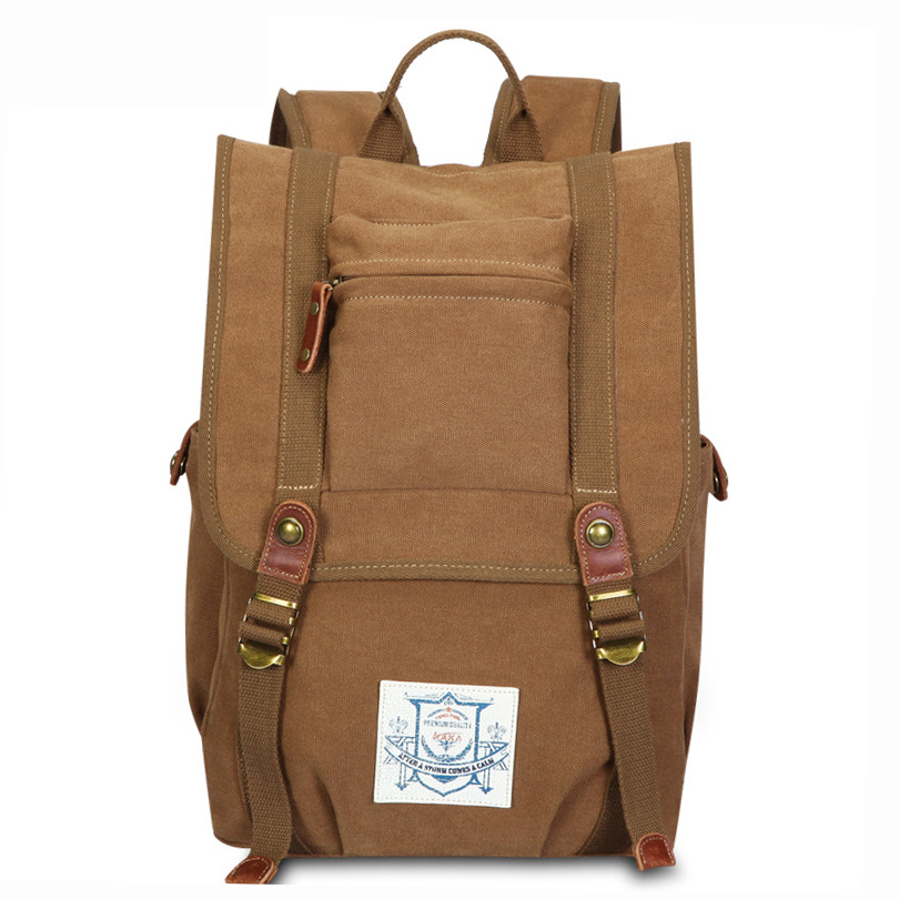KAKA Hot Casual Male High Quality Canvas Laptop Rucksack School Backpack for Boys Men's Large Capacity Travel Backpack canvas backpack women for teenage boys school backpack male