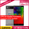"""Оригинальный Новый Lenovo Vibe Z2 4 Г FDD LTE Android 5.0 Мобильный телефон Snapdragon Quad core Dual SIM 5.5 """"HD 2 Г RAM 32 Г ROM 13MP NFC"""