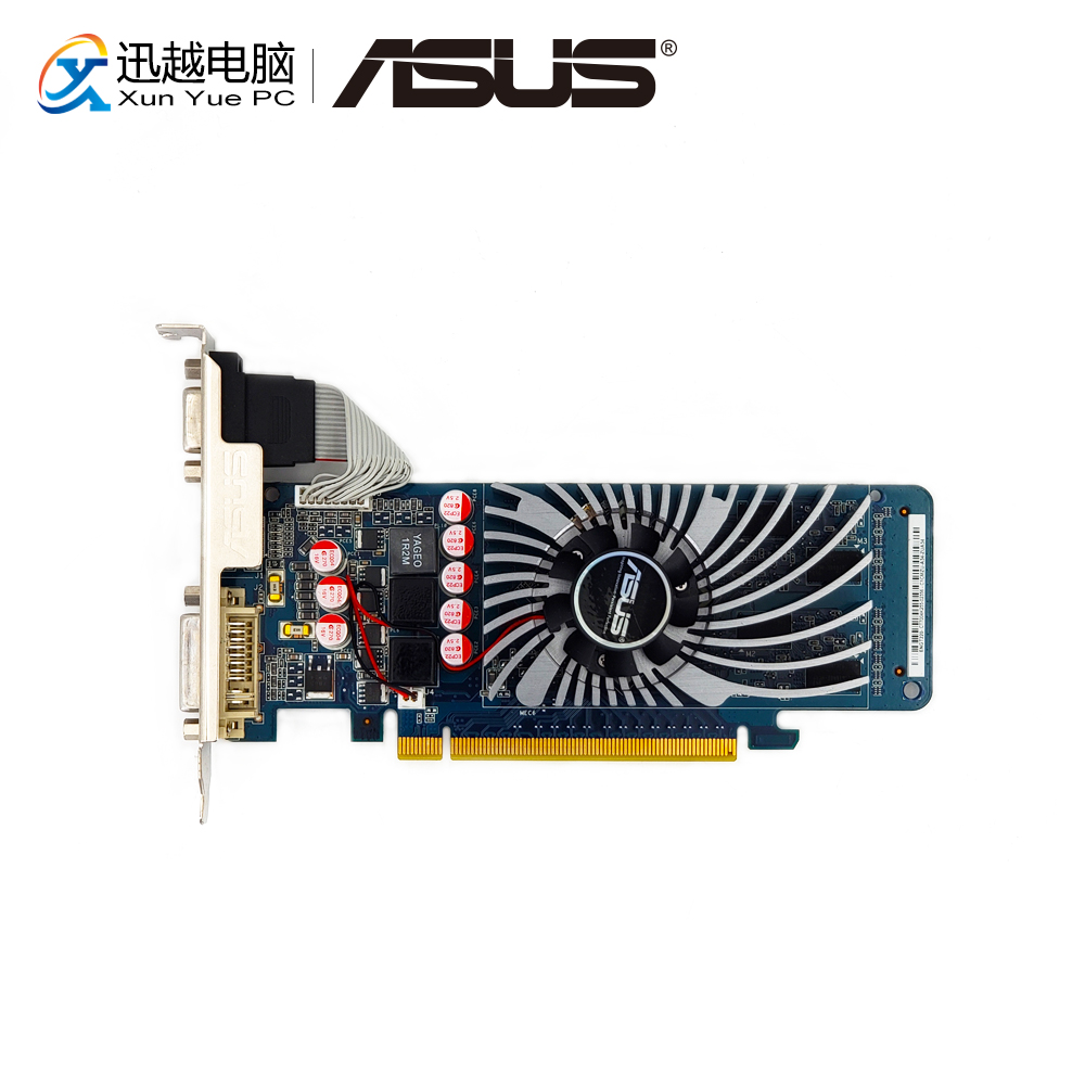 ASUS ENGT220/DI/1GD3(LP)/V2 Original Graphics Cards 128 Bit GT 220 GDDR3 Video Card VGA DVI HDMI For Nvidia geforce GT 220 ginzzu gt x770 v2 lte 8gb white