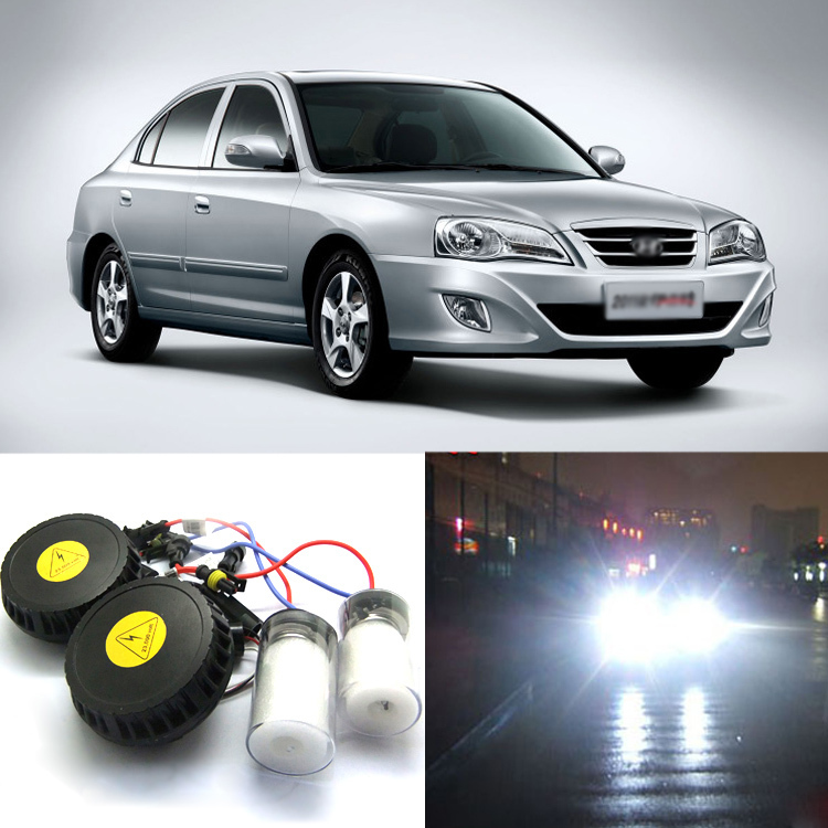 iPobooTech New Generation All In One High Beam Error Free H7 HID Lights For Hyundai Elantra  цена
