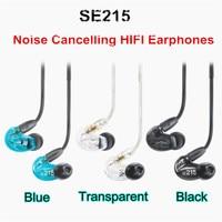 Fast Shipping SE215 Hi Fi Stereo Noise Canceling 3 5MM SE 215 In Ear Earphones With