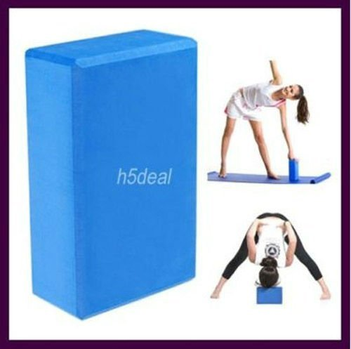 Yoga Block Blue and Purple Foaming Foam Block Home Exercise Tool Water Proof Block Anti-skidding