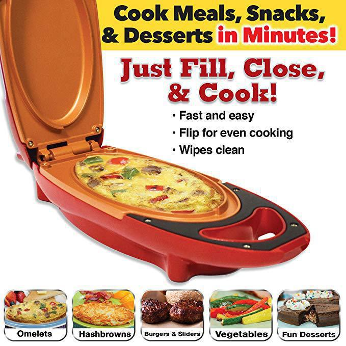 Non-stick Aluminum Frying Pan Non-smoking Pan Upscale Electric Barbecue Steak Pizza Cookware