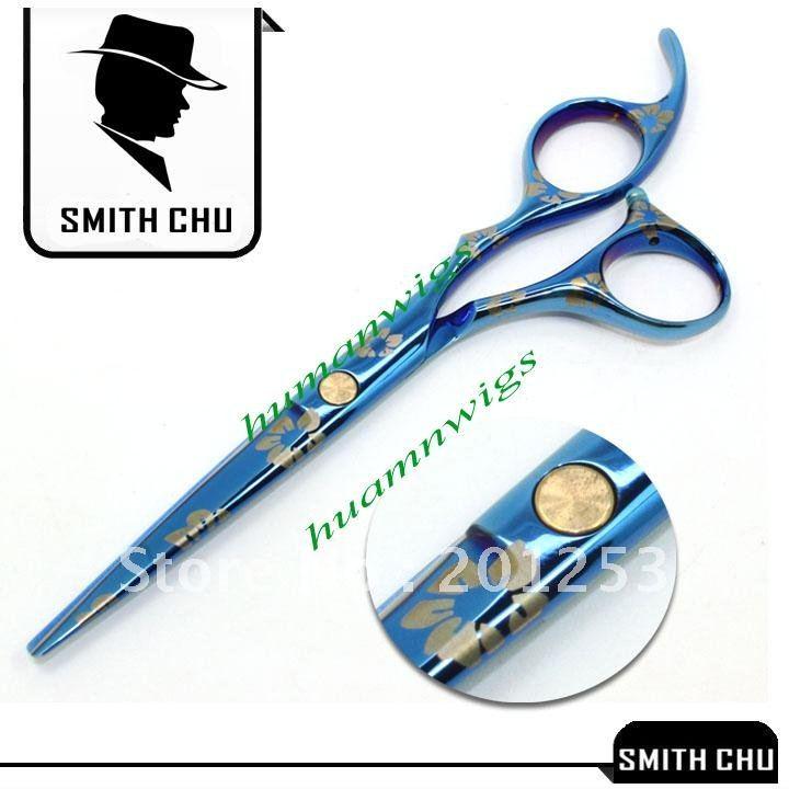Hair Scissors Hair Care & Styling The Best Smith Chu 6.0 Inch Hair Scissors Barbers Blue Sakura Cutting Scissors Thinning Shears Stainless Steel Hair Cut Razors Lzs0010 Fragrant Aroma