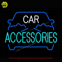 Blue Car Accessories Neon Sign Neon Bulb Coors Light Neon Signs Decorate Garage Glass Tube Handcrafted