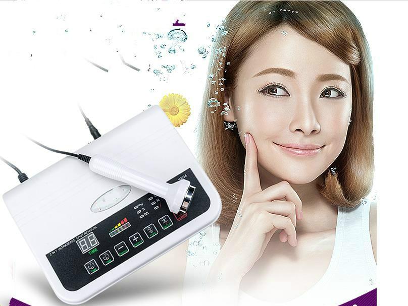 цена на Ultrasonic beauty instrument face detoxifying instrument lead instrument Ultrasonic import export The spot instrument