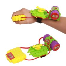 5M Wrist Water Gun Range Plastic Swimming Pool Beach Outdoor Shooter Toy Sprinkling Toys For Children Color Random(China)