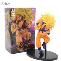 SCultures BIG Dragon Ball Z Super Saiyan 3 Son Sokou Goku PVC Action Figure Collectible Model