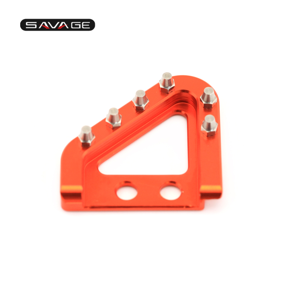 S Brake Pedal & Shifting Lever Toe Peg Step Plate (16)