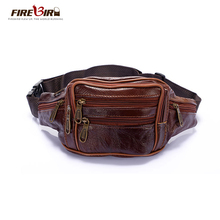 2016 new style!men Multifunction travel bags genuine leather funny chest pack men waist pack hiqh quality men waist bags HN209