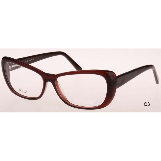 e77e4df77936 2017 hot New fashion eye glasses frames points women Vintage Brand  eyeglasses cat frame myopia optical