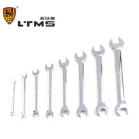 Double Open Wrench Forged Alloy Steel Auto Repair Wrench Sets Necessary Hand Tools