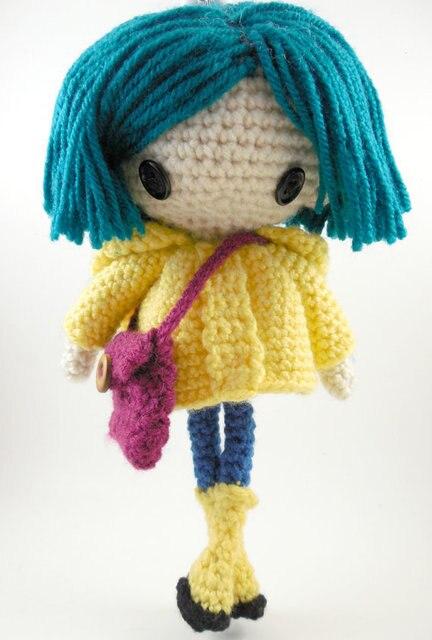 Amigurumi Puppe Häkeln Mädchen Spielzeug Puppe Rattle In Amigurumi