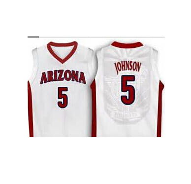 low cost 7d07e 179a5 5 stanley johnson Arizona Wildcats Red Basketball Jersey ...