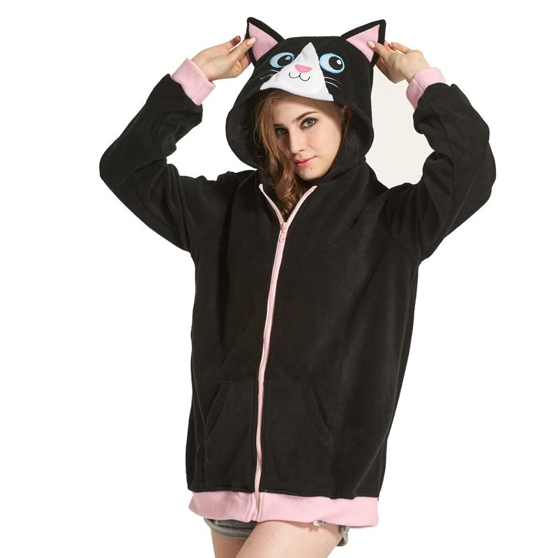 Aliexpresscom  Buy Women Hoodies With Ears Panda Pocket -4799