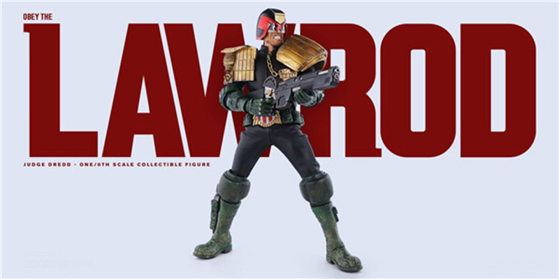 1/6 Scale 31cm Tall Judge Dredd Full Set Collectible Action Figures Model Toys with Box collectible 1 6 jill valentine action figure resident evil model toys feamle full set figures in stock