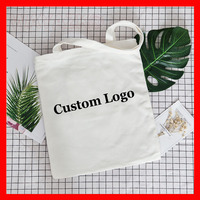 1pcs/lot Personlized canvas cotton shopping tote bag with logo,for promotional gift