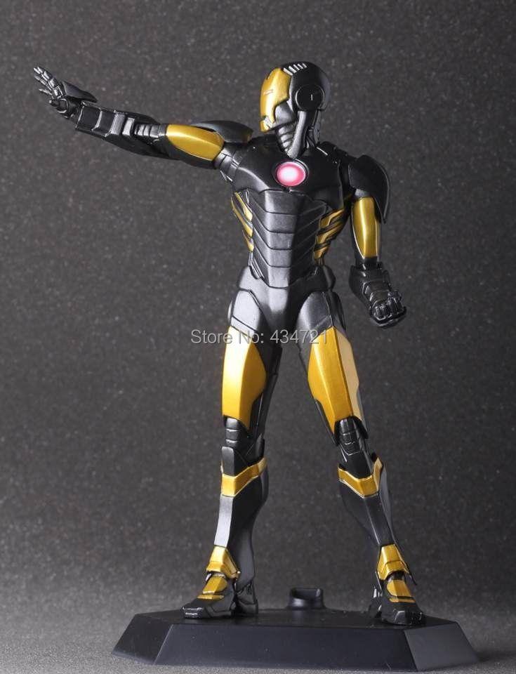 ФОТО New Special Colour  Iron Man Tony Stark Age Of Ultron Marvel The Avenger Superhero Crazy Toys 7