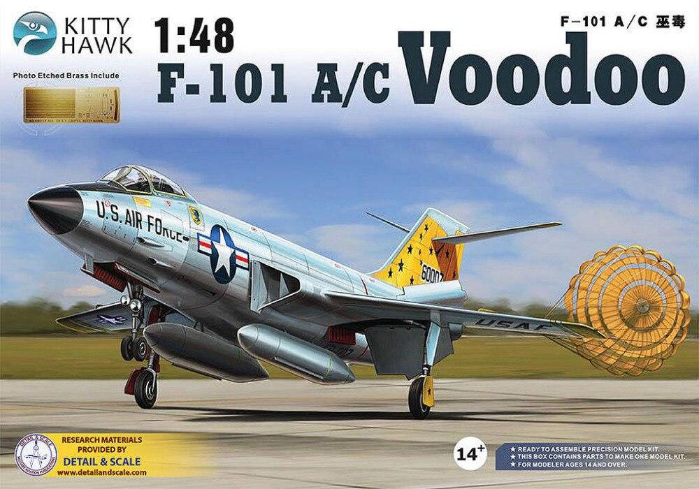 Kitty Hawk 1/48 KH80115 F-101 A/C Voodoo hawk hkaw 101