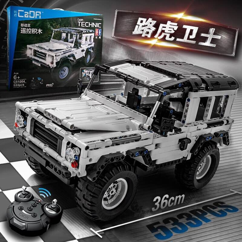 US $62 4 20% OFF|2019 Legoingly Technic Series Defender RC Car Model sports  car SUV DIY Building Block Car Brick Toys For Children Gifts Boy Girl-in