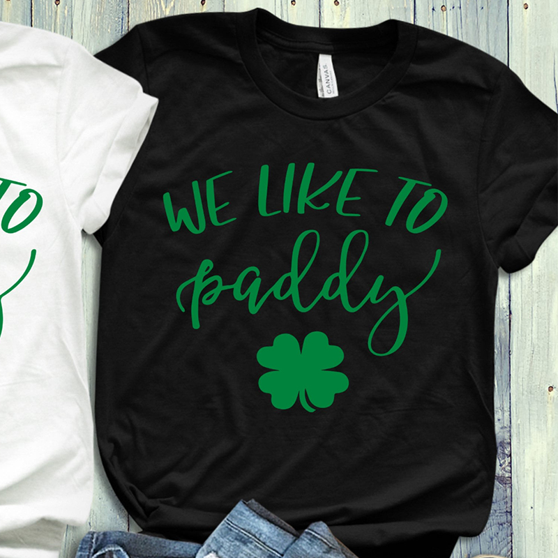 New Lucky Shamrock Shirt Women Tops T Shirt Let 39 s Get Ready To Stumble Here To Paddy Graphic T Shirts Girls in T Shirts from Women 39 s Clothing