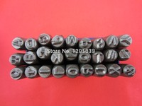 HOT SALE 1 8 3 MM CAPITAL LETTER A Z PUNCH STAMP SET 27 PIECE JEWELRY