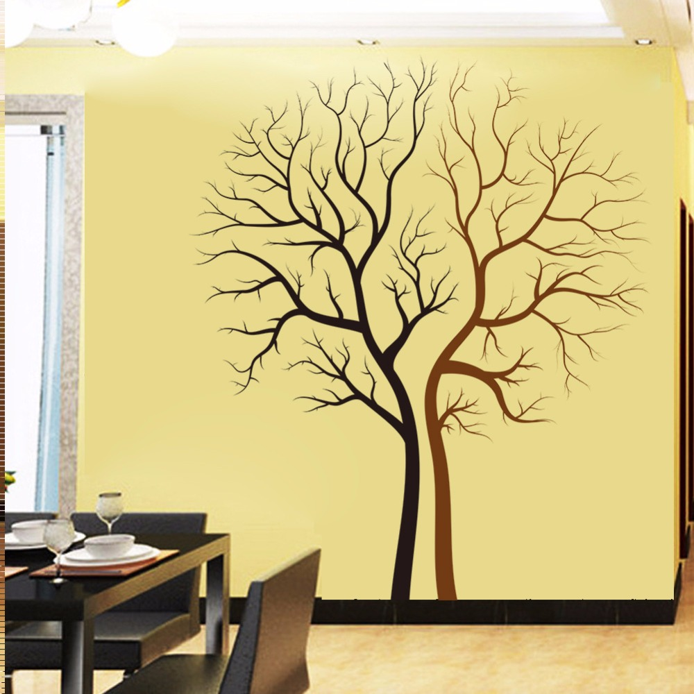 Perfect Wooden Tree Wall Decor Pattern - The Wall Art Decorations ...