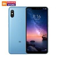 Global Version Xiaomi Redmi Note 6 Pro 3GB 32GB Smartphone Snapdragon 636 Octa Core 6.26 Screen Dual Camera 4000mAh Cellphone