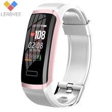 Lerbyee GT101 Fitness Tracker Hartslagmeter Waterdicht Activiteit Tracker Kleur Screen Mannen Vrouwen Smart Armband Voor Sport