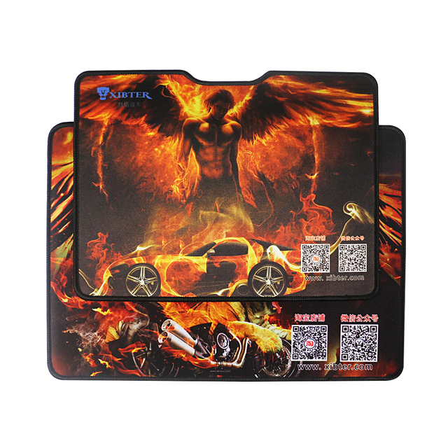 Xiibter Big Rubber Mouse Pads Anime Non Slip Mousemat With Wrist