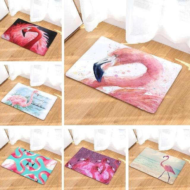 Tappetino da bagno Pink Flamingo Stampato Tappeto Bagno Tappetino Assorbente Tap