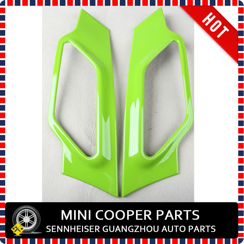 ABS Материал с защитой от ультрафиолетового излучения, чистый зеленый цвет стиль mini Ray стороне крышки лампы для R60 mini cooper Countryman S только(2 шт./компл