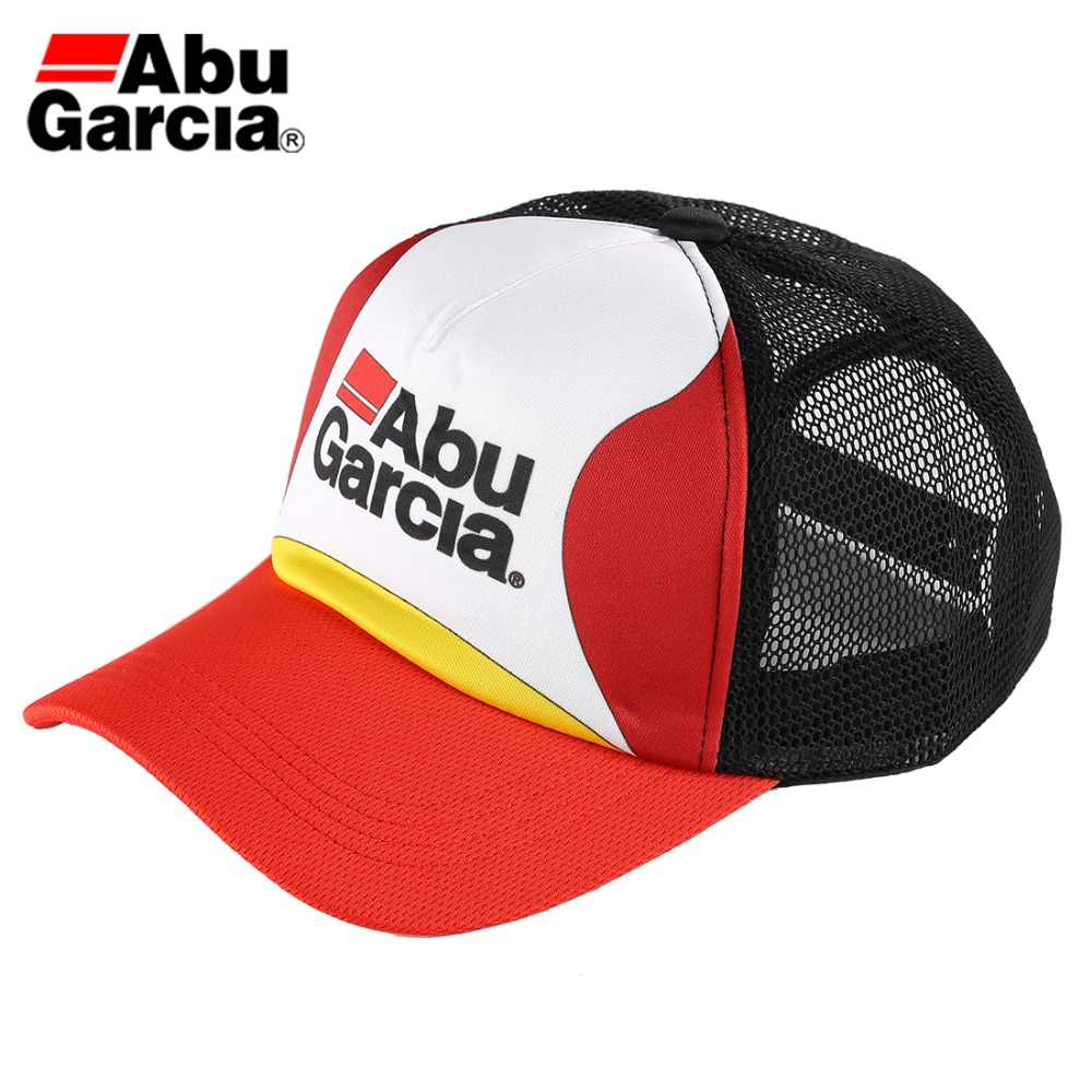 Abu Garcia Brand Mesh Cap Multi function Adjustable Outdoor Sports Sun Visor Hat Unisex Fishing Baseball Golf Hat