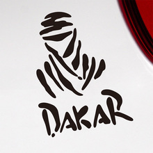 10 Pieces Dakar Rally LOGO Car Body Stickers Decal Car Styling For Mitsubishi Nissan Toyota VW car accessories