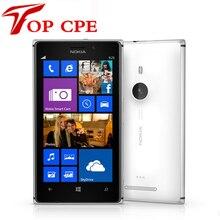 Nokia Lumia 925 Восстановленное Оригинальный Windows Mobile Телефон 4.5 »8MP WI-FI GPS 3 Г и 4 Г GSM 16 ГБ встроенной Памяти 1 Год гарантии